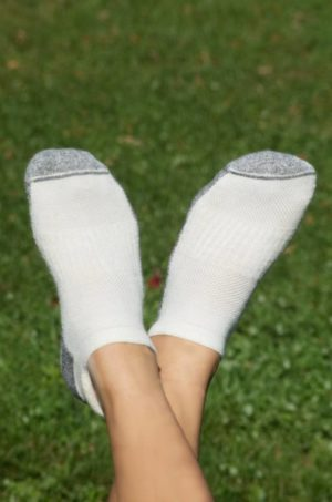 Made in the USA Baby Alpaca Ankle Sport Socks