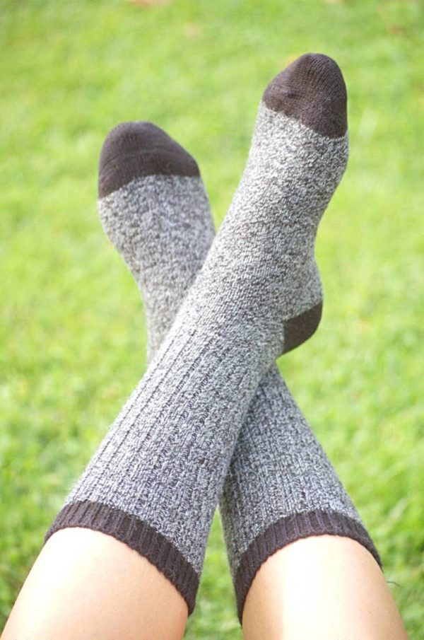 Pinnacle Baby Alpaca All Performance Socks. Alpaca Work Socks.