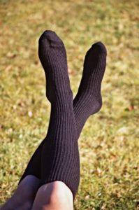 Made in the USA Baby Alpaca Knee Socks