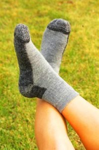 Baby Alpaca Pinnacle Slipper Socks