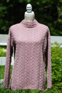 Pure Baby Alpaca Relaxed Cable Pullover