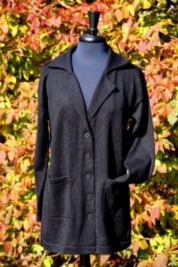 Pure Baby Alpaca Relaxed Sweater Jacket