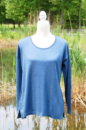 Pure Pima Cotton Relaxed Pullover