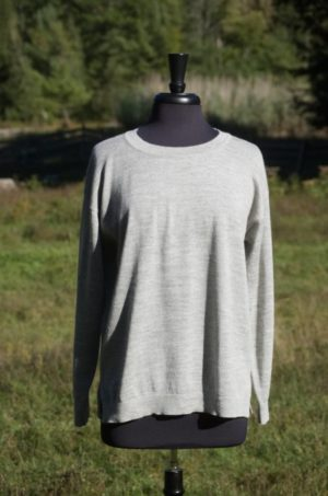 Pure Baby Alpaca Relaxed Pullover