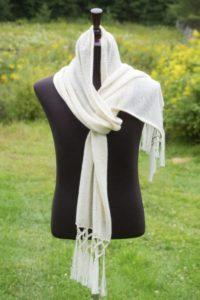 Pure Baby Alpaca Ultra Soft Knit Scarf