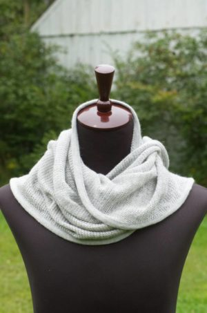 Pure Baby Alpaca Ultra Soft Knit Scarf