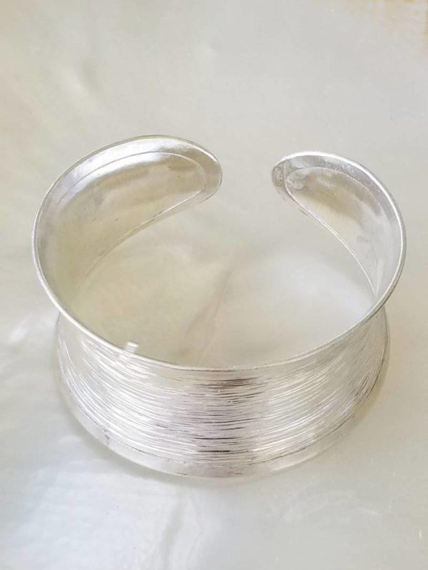 Pure Sterling Silver Cuff Bracelet