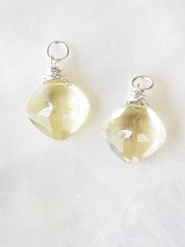 Lemon Quartz Gemstone Dangles