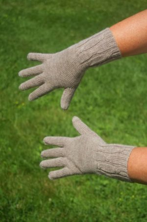 Pure Baby Alpaca Gloves