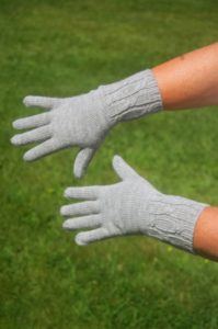 Pure Baby Alpaca Gloves