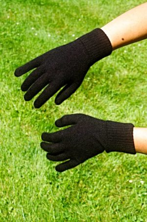 Pure Baby Alpaca Liner Gloves