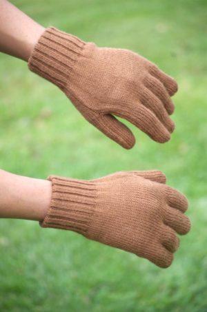 Super Warm Double Knit Baby Alpaca Gloves
