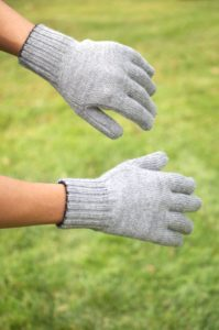 Super Warm Baby Alpaca Double Knit Gloves