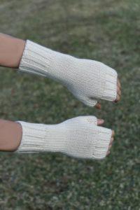 Pure Baby Alpaca Simplicity Handwarmers