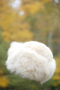 Pure Baby Alpaca Fawn Fur Hat