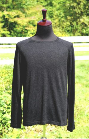 Easy Care Mens Base Layer Pima Cotton Crew