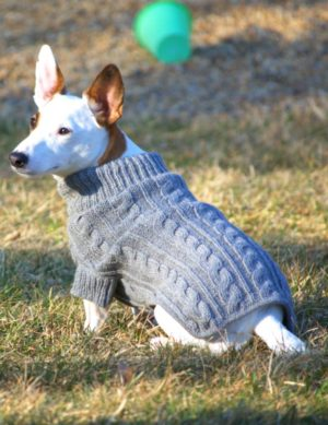 All Natural Alpaca Aran Sweater