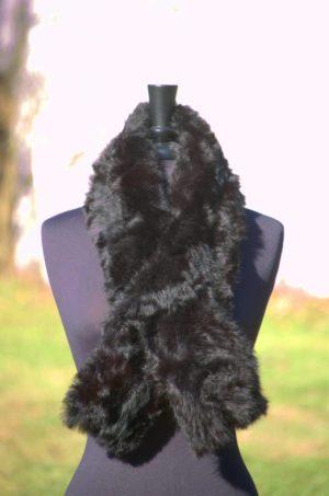 Pure Alpaca Fur Scarf
