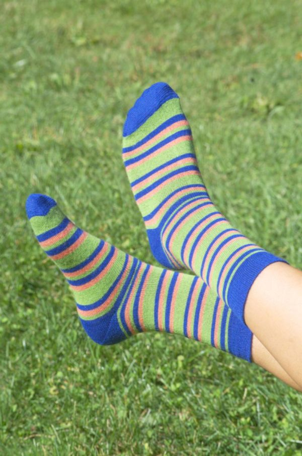 Baby Alpaca Striped Socks