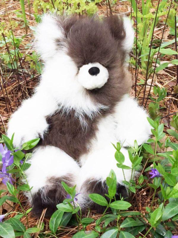 Large 12 Inch Pure Alpaca Teddy Bear