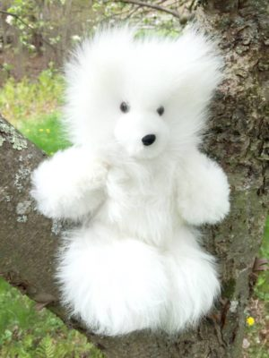 10 Inch Pure Alpaca Teddy Bear