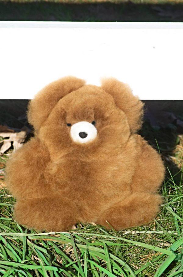 Large 12 Inch Pure Baby Alpaca Teddy Bear