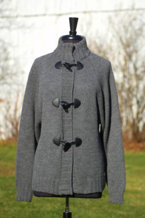 Pure Baby Alpaca Toggle Jacket