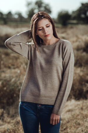Women's Alpaca Sweater