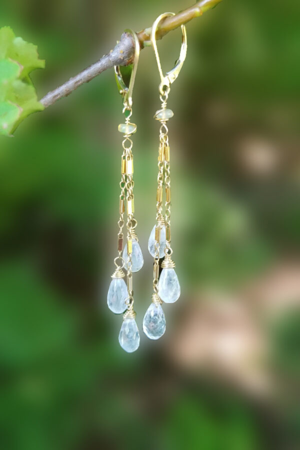 Moonstone Gemstone Earrings