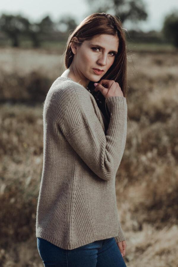 Fisherman's Knit Alpaca Sweater