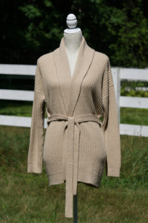 Luxury Baby Alpaca Wrap Cardigan