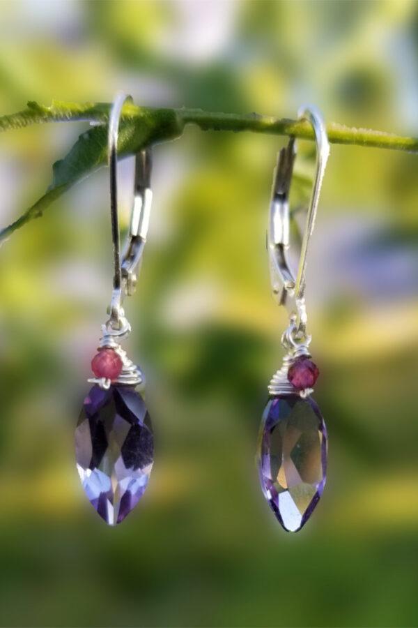 Amethyst Gemstone Earrings