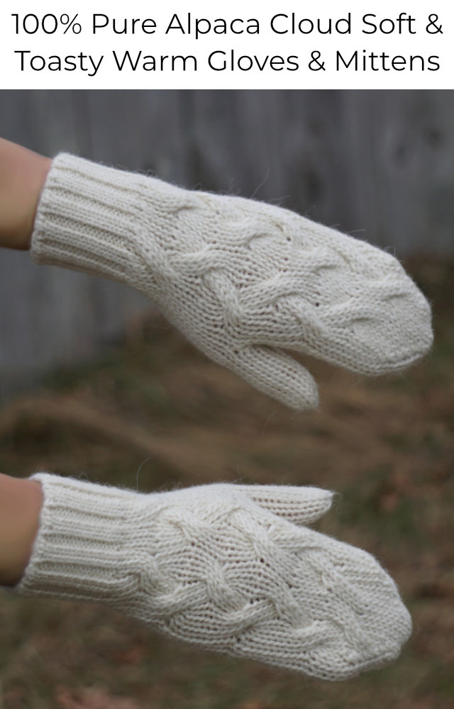 Shop Alpaca gloves and mittens for women and men