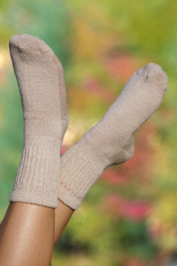 Wellness Alpaca Crew Socks. Diabetic Alpaca Crew Socks. Therapeutic Alpaca Crew Socks