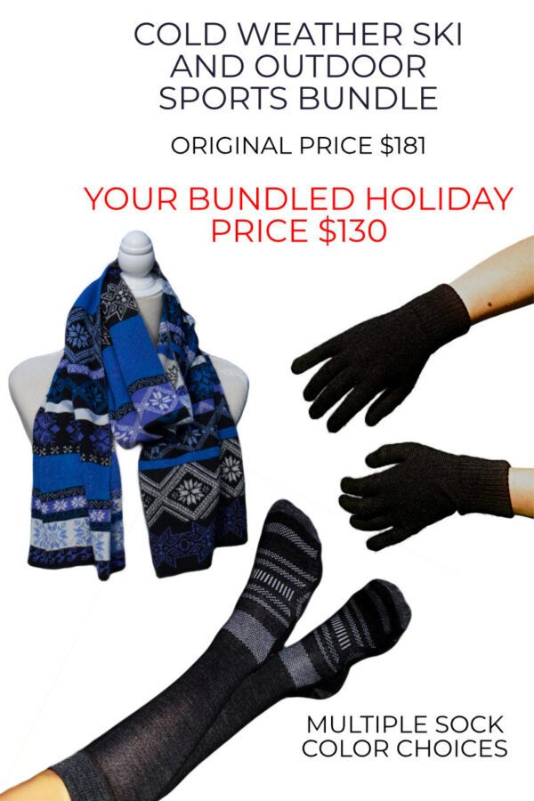 Big Savings On Our Cold Weather Alpaca Ski Package