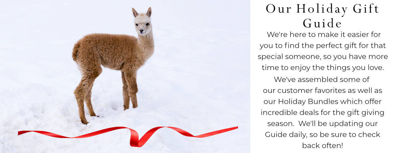 Alpaca Clothing, Accessories and Home Goods Holiday Gift Guide