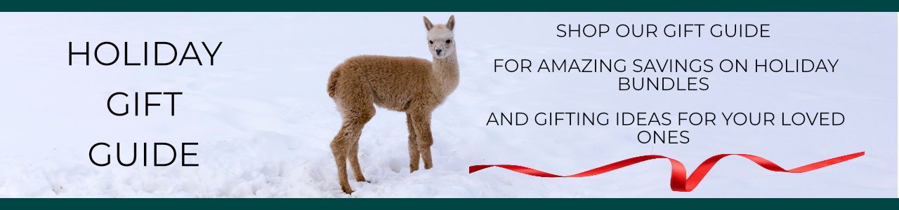 Mt. Caesar Alpacas Holiday Gift Guide For Amazing Savings On Alpaca Clothing, Alpaca Accessories and Alpaca Home Goods