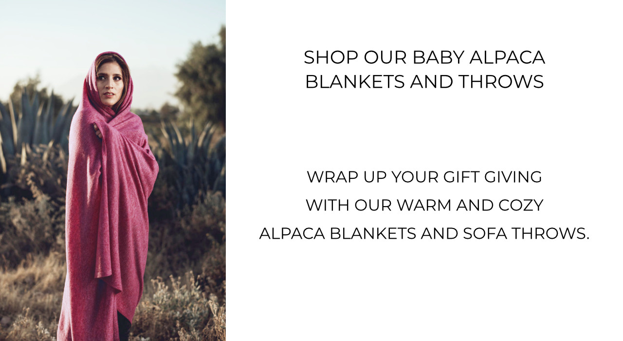 Shop alpaca blankets and sofa throws