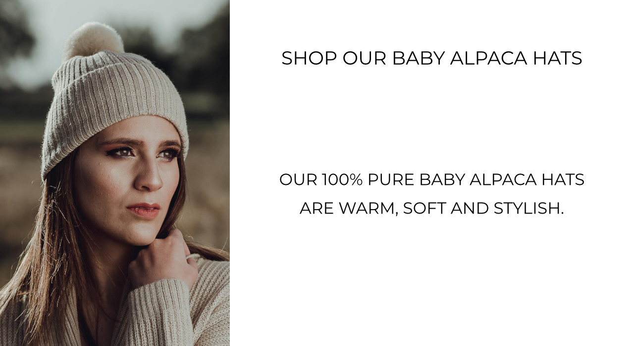 Shop pure alpaca hats