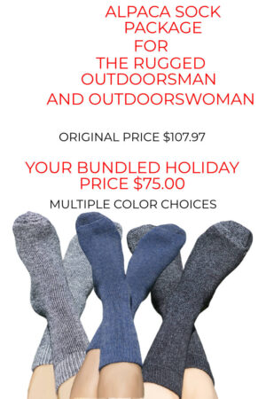 Big Savings On Our Alpaca Sock Bundles