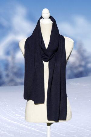 Women's and Men's alpaca knit scarf