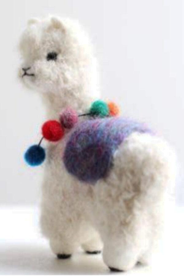 Alpaca Felted Figurines