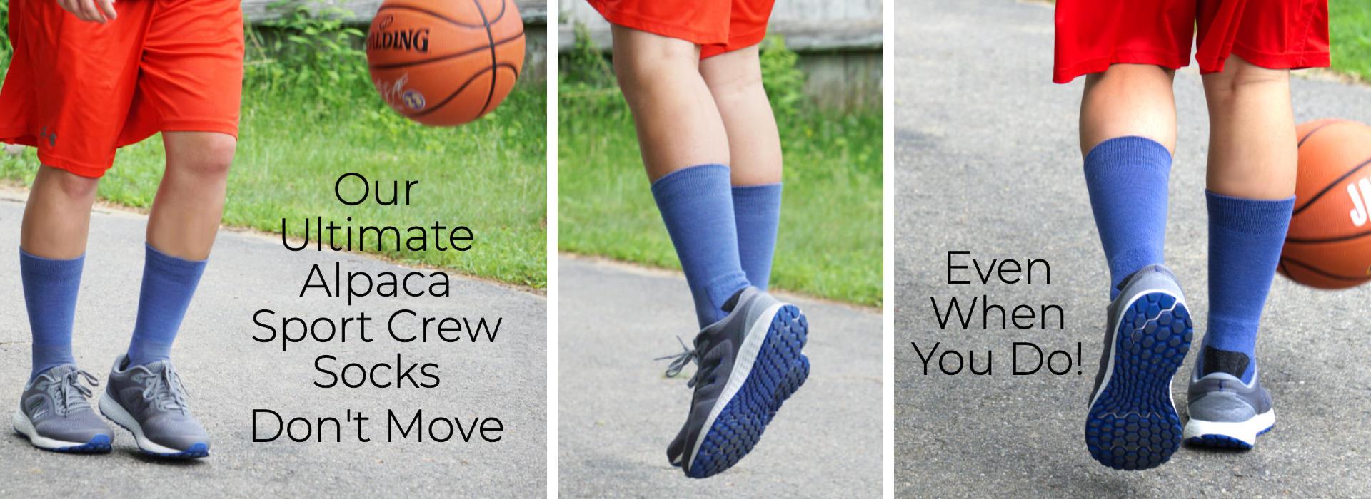 Ultimate Alpaca Sport Crew Socks
