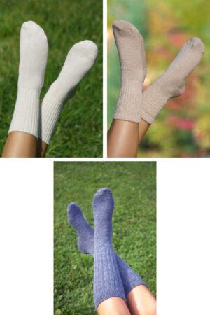 Save $24 on our Bundle Of Three Pair Of Wellness Alpaca Socks